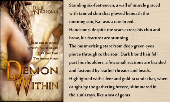 Demon Within by Julie Nicholls-Ebook